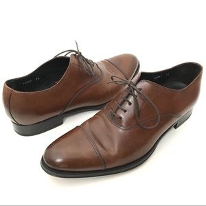 To Boot New York 9.5 Brown Cap Toe Oxford shoes